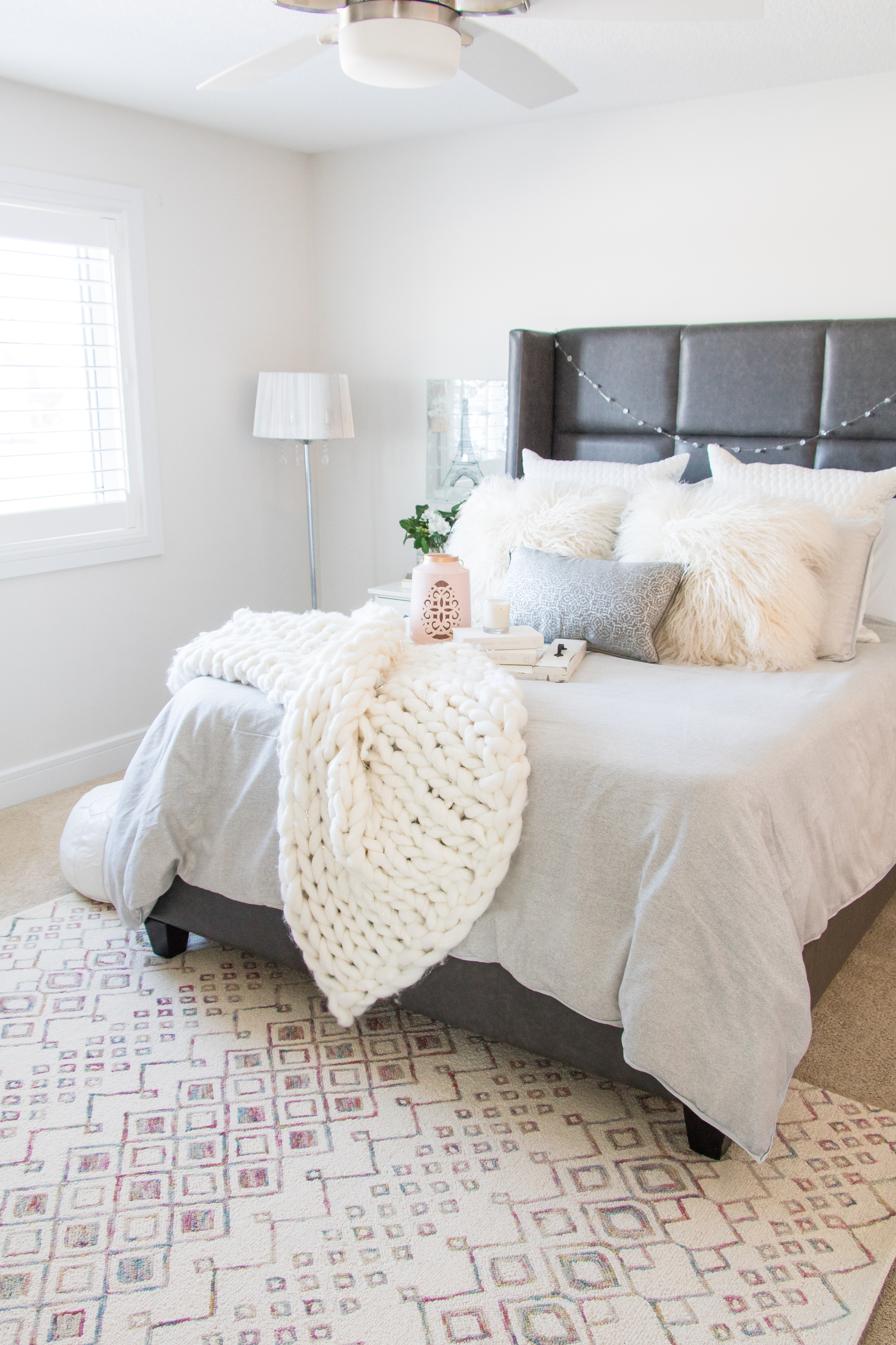 Our Bright And Cozy Master Bedroom Chandeliers And Champagne